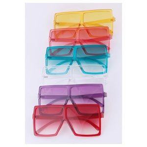 Oversized Fashion Framed Sunglasses